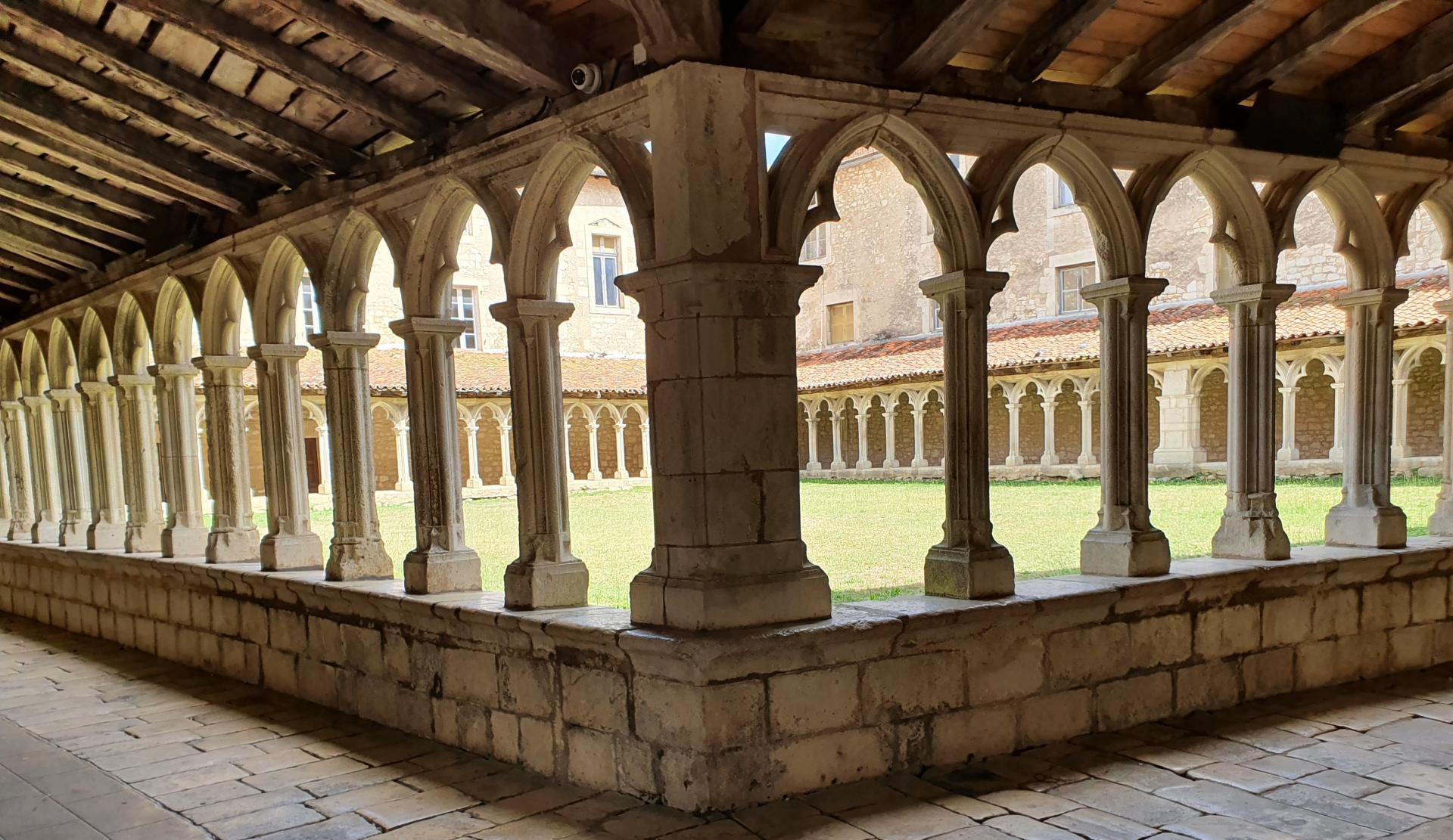 Le cloître du couvent des Carmes - Projet GUI VII